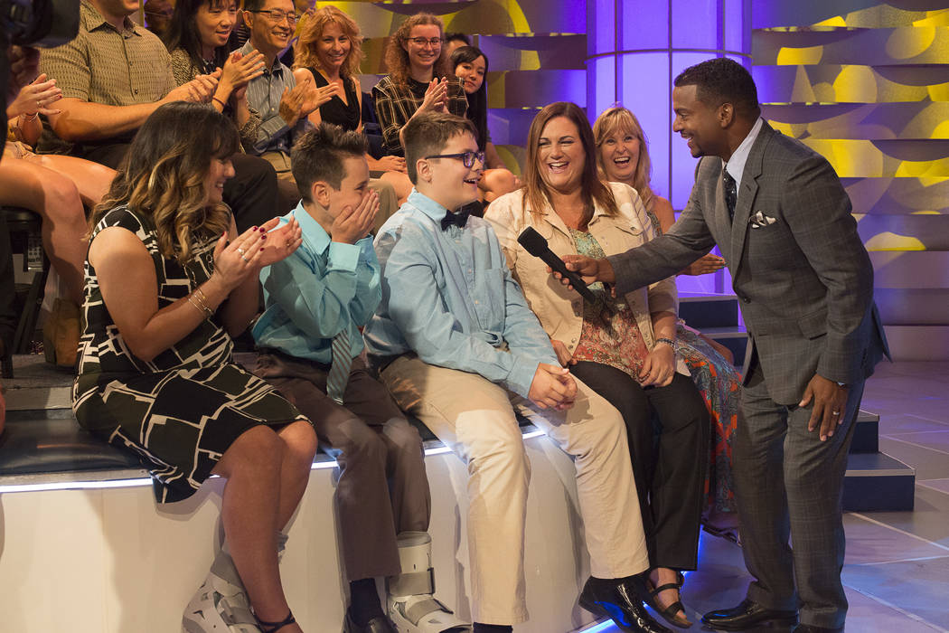 "Alfonso Ribiero hosts ""America's Funniest Home Videos"" on The ABC Television Network. ABC Michael Ansell"