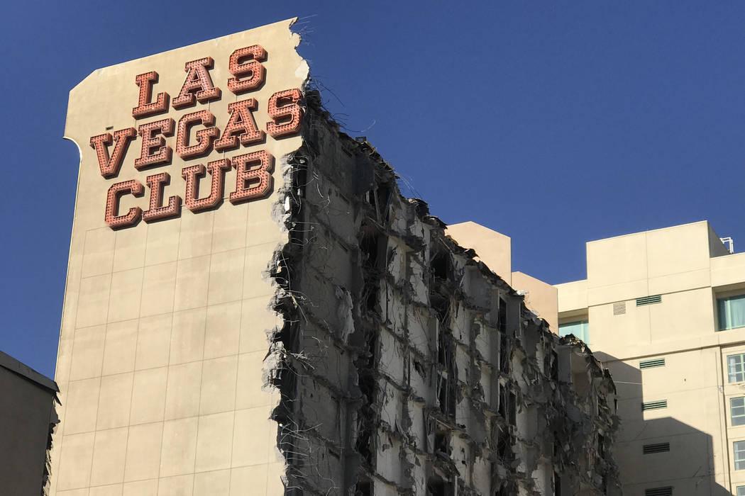 Owners Turning Las Vegas Club Into New Project Photos Las Vegas