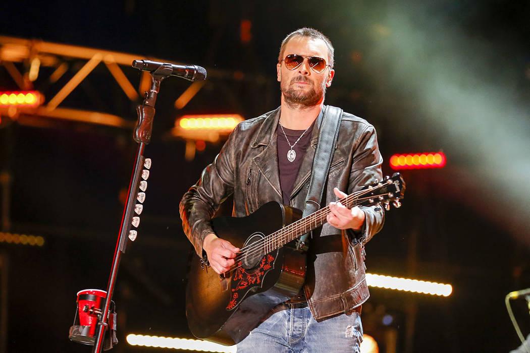 Eric Church performs at the CMA Music Festival at Nissan Stadium in Nashville, Tenn., in 2016. (Photo by Al Wagner/Invision/AP)