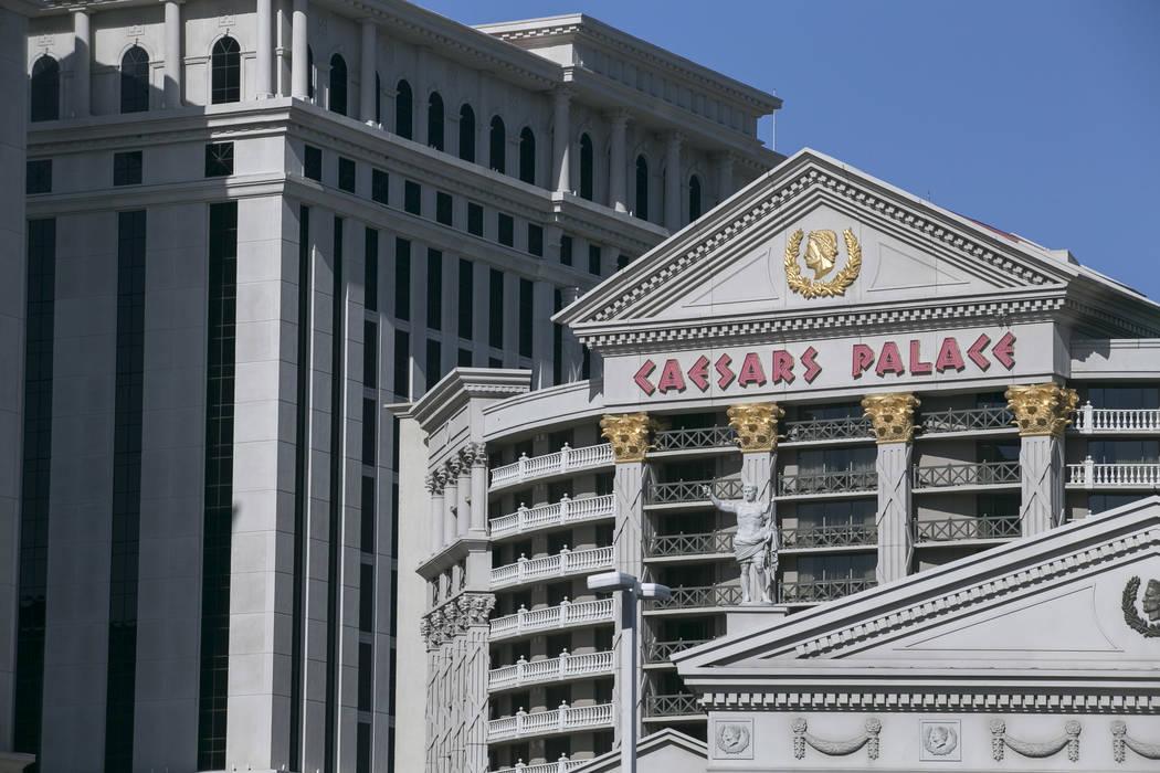 Caesars Palace in Las Vegas. (Richard Brian/Las Vegas Review-Journal) @vegasphotograph