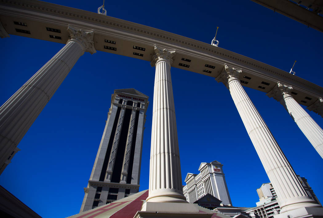 Caesars Palace, 3570 Las Vegas Boulevard South (Las Vegas Review-Journal)