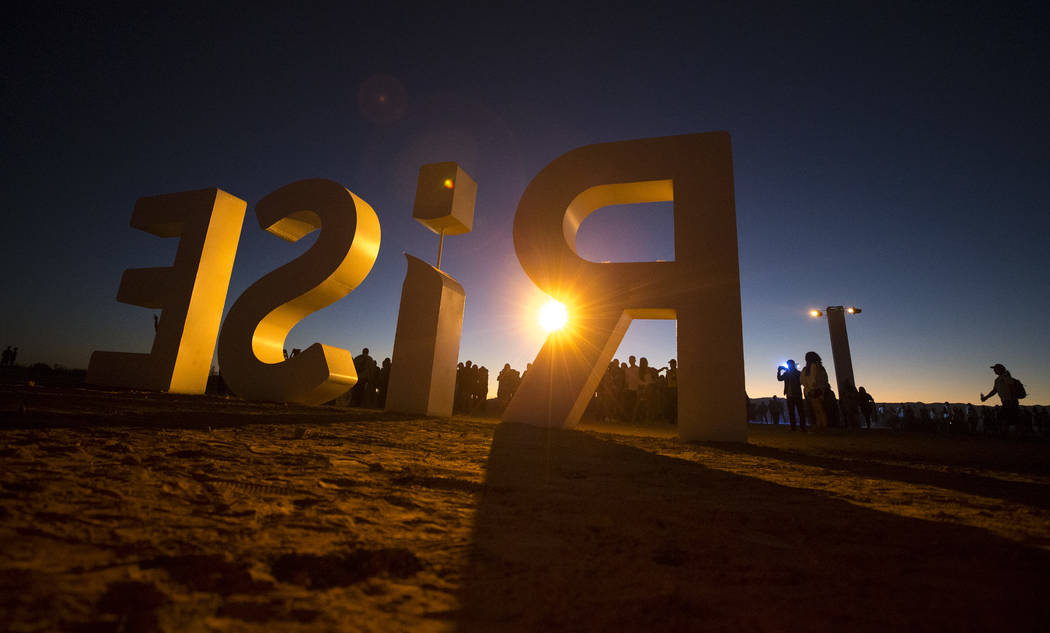The RiSE Lantern Festival at the Moapa River Indian Reservation on Friday, Oct. 6, 2017. Richard Brian Las Vegas Review-Journal @vegasphotograph