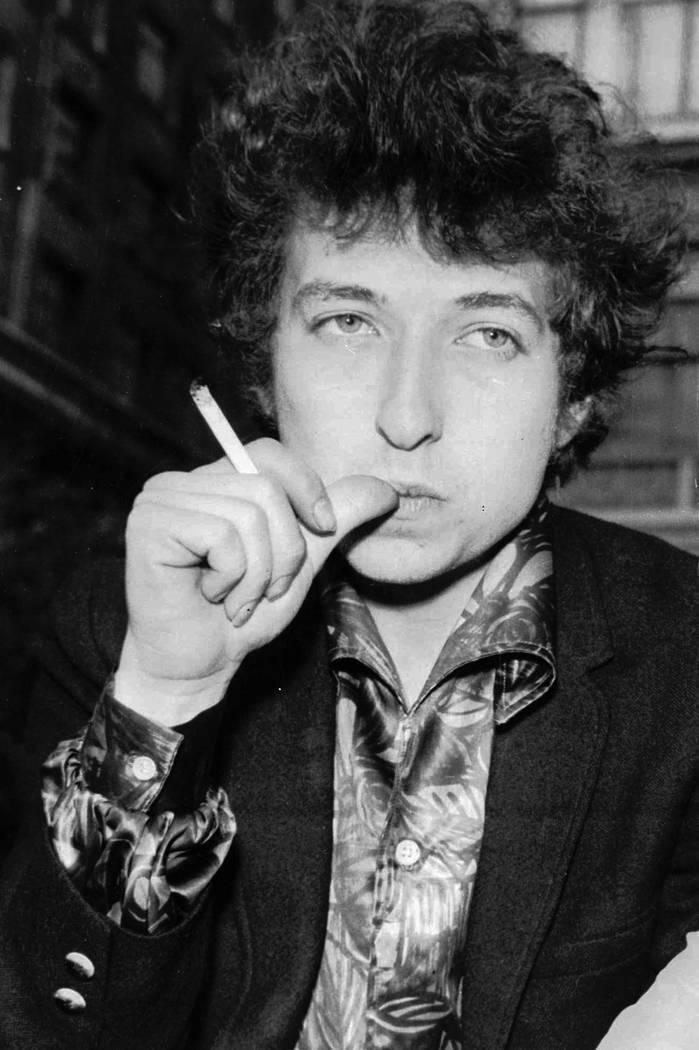 Singer Bob Dylan is seen in London on April 27, 1965. (AP Photo)