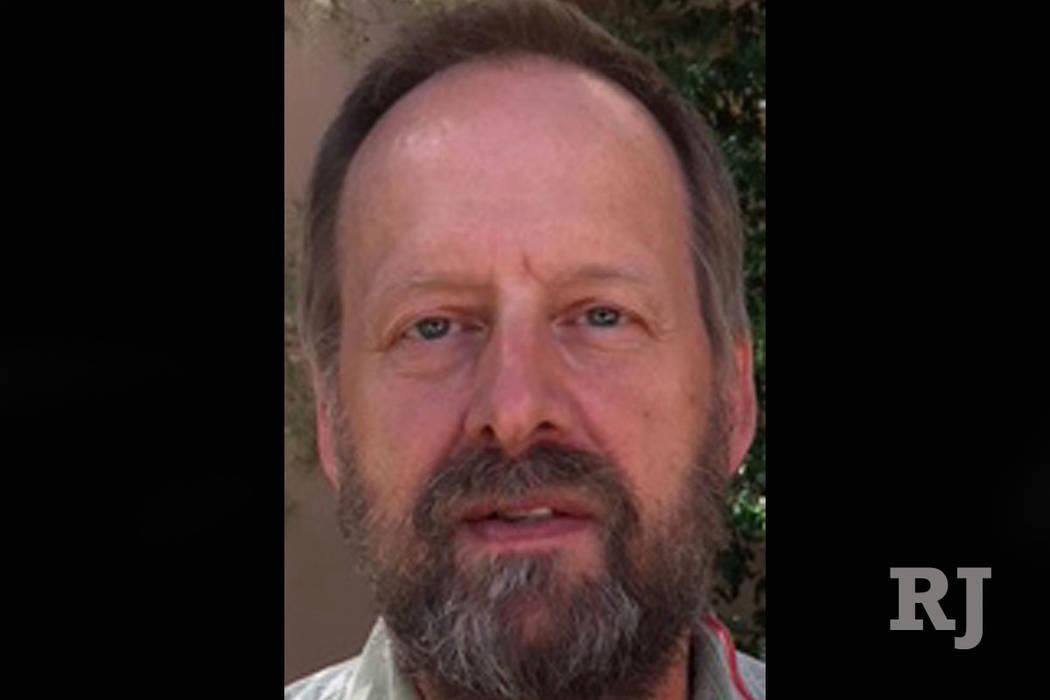 Eric Paddock, brother of mass murderer Stephen Paddock, in Las Vegas. (Jeff German Las Vegas Review-Journal)