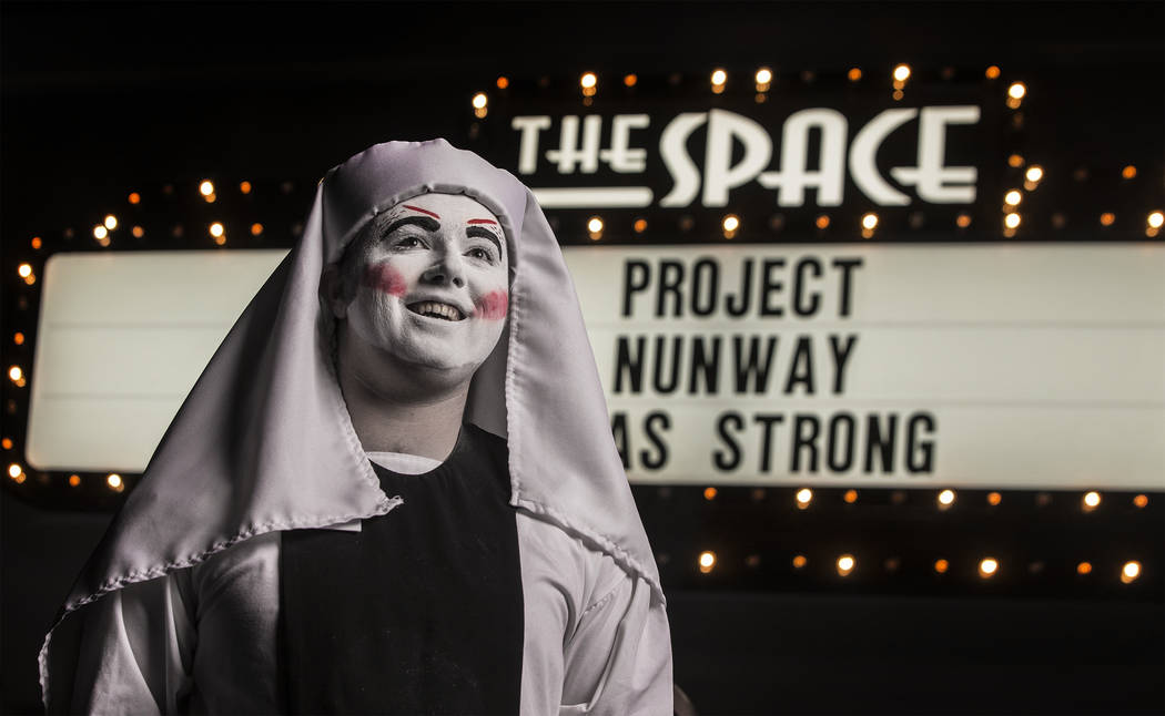 "Novice Olivias outside The Space during ""Project Nunway,"" a fundraiser fashion show for The Holy Order Sin Sity Sisters of Perpetual Indulgence benefiting its AIDS drug assistance program on Satur ..."