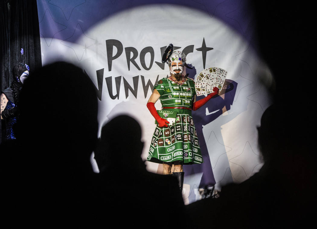 "Sister Gloria-Areola walks the runway during ""Project Nunway,"" a fundraiser fashion show for The Holy Order Sin Sity Sisters of Perpetual Indulgence benefiting its AIDS drug assistance program on  ..."