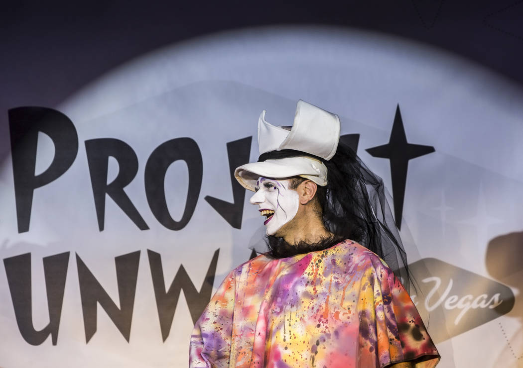 "Models walk the runway during ""Project Nunway,"" a fundraiser fashion show for The Holy Order Sin Sity Sisters of Perpetual Indulgence benefiting its AIDS drug assistance program on Saturday, Octob ..."