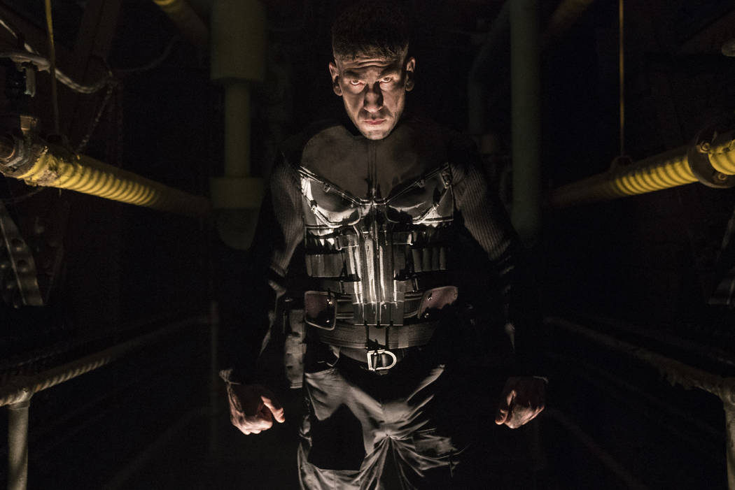 "Jon Bernthal stars as Frank Castle in ""The Punisher."" (Jessica Miglio/Netflix)"