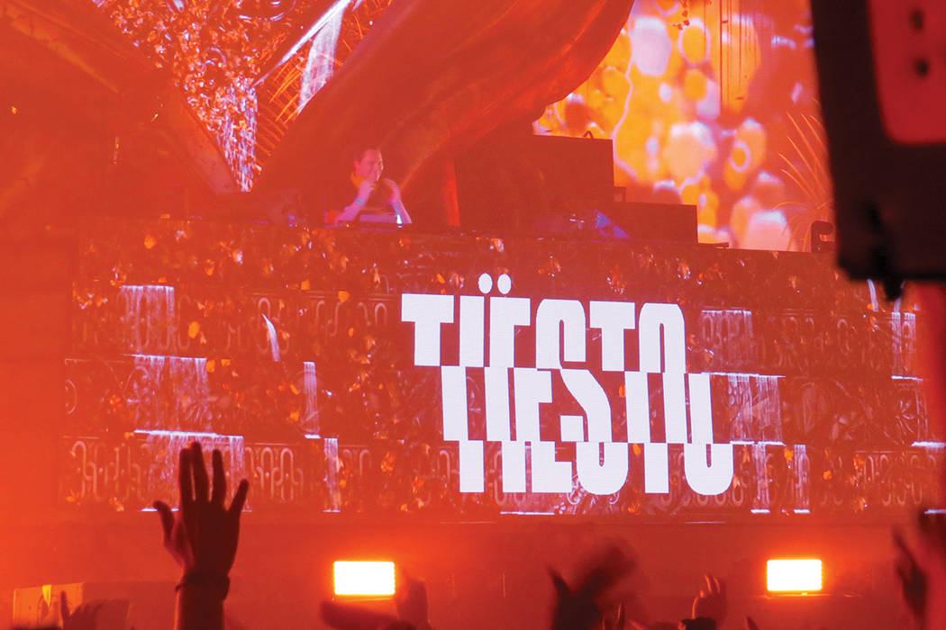 DJ Tiesto at EDC Las Vegas. Anthony Avellaneda/ El Tiempo.