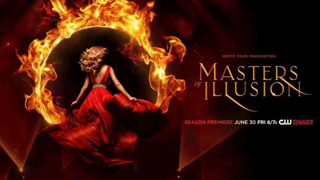 "The hit CW television series, ""Masters of Illusion,"" will open in the shuttered Jubilee Theater at Bally's Dec. 6. (Courtesy)"