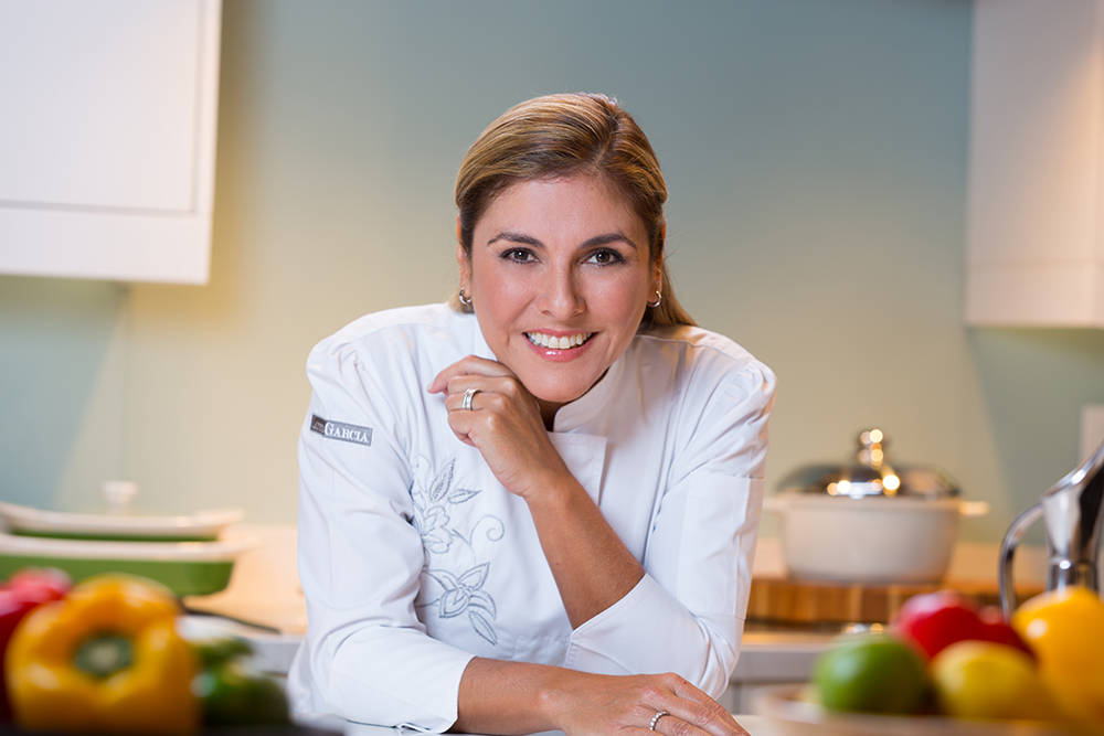 "Celebrity chef Lorena Garcia, a ""Top Chef"" contestant opened Chica restaurant at The Venetian. (Courtesy)"