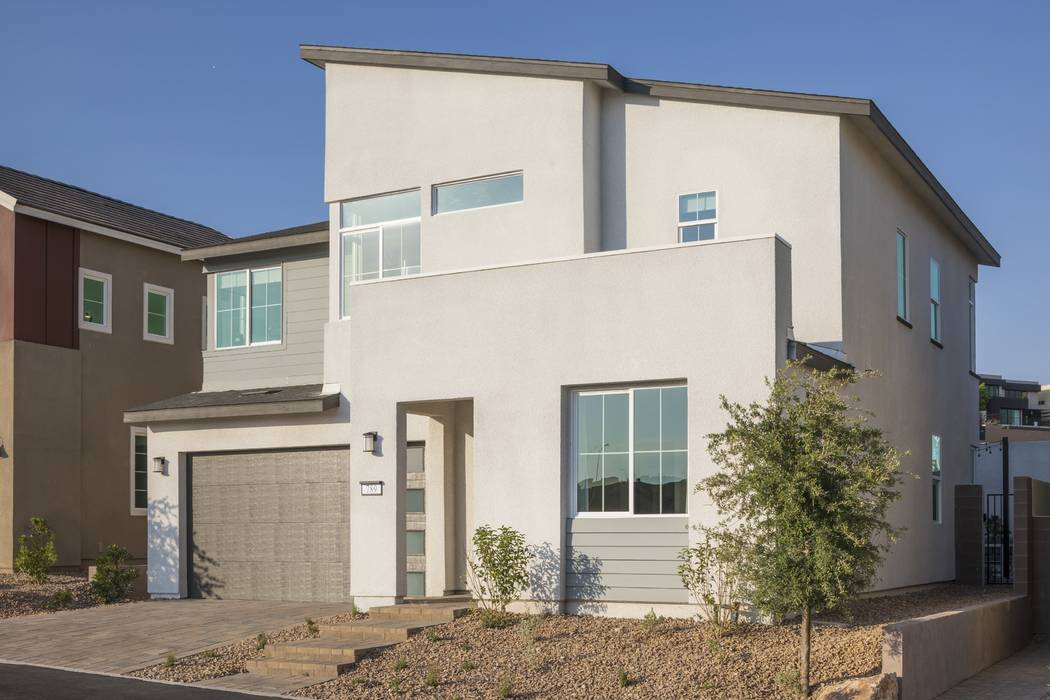 Pardee A select number of move-in-ready homes are available at Pivot by Pardee Homes off South Green Valley Parkway at Carnegie Street in Henderson. Pictured is Pivot Plan One model home.