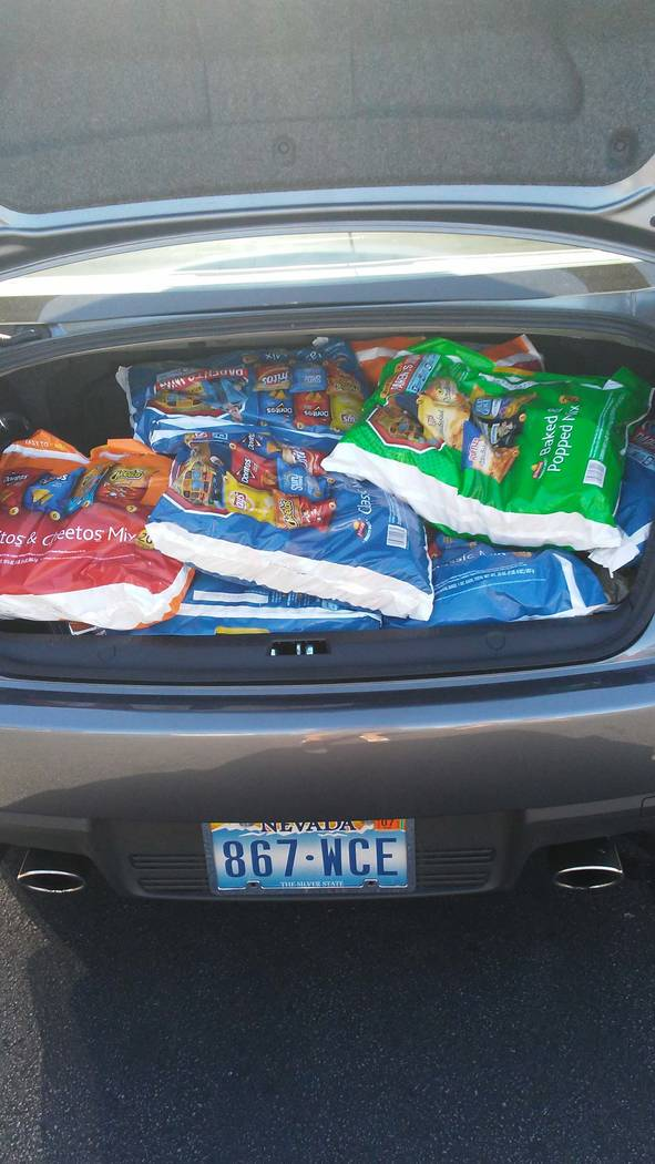 Everyone came together on one of the saddest days in American. Vegas Strong. Big thank you to Smith's Food for donating snacks to our blood donor's. Photo submitted by Elicia Lobato.