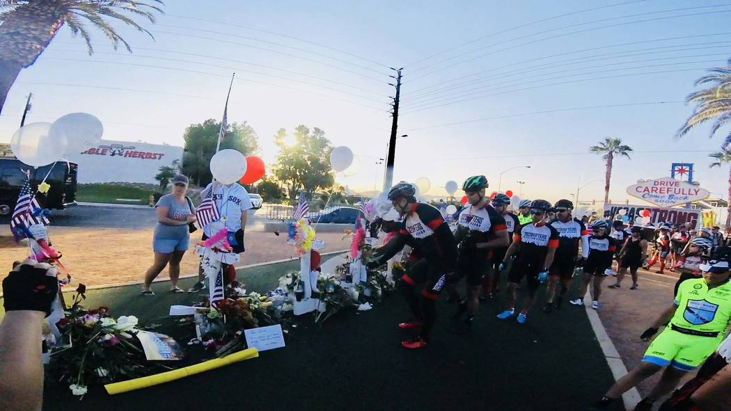 Cyclists unite, as we honor the souls that were lost and the lives that made this community stronger. In our darkest moments, we find our light within, let it shine on someone else. Together we he ...
