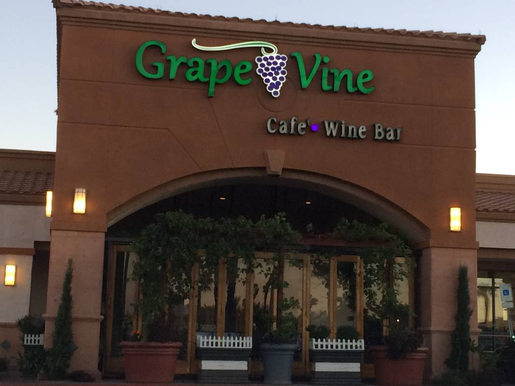 The exterior of Grape Vine Café, Wine Bar & Cellar is seen Oct. 9, 2017. Formerly Grape Street, the new owners kept much of what made the bistro a success. (Jan Hogan/View)
