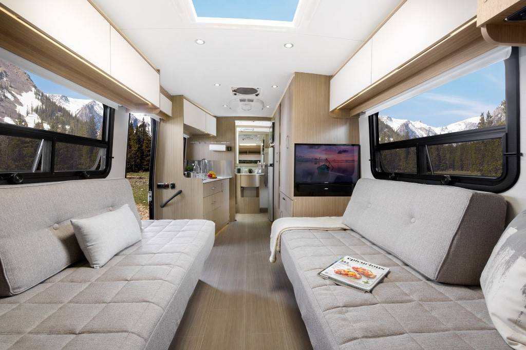 Wonder Leisure Travel Vans has added a new front twin-bed model to the Wonder lineup.
