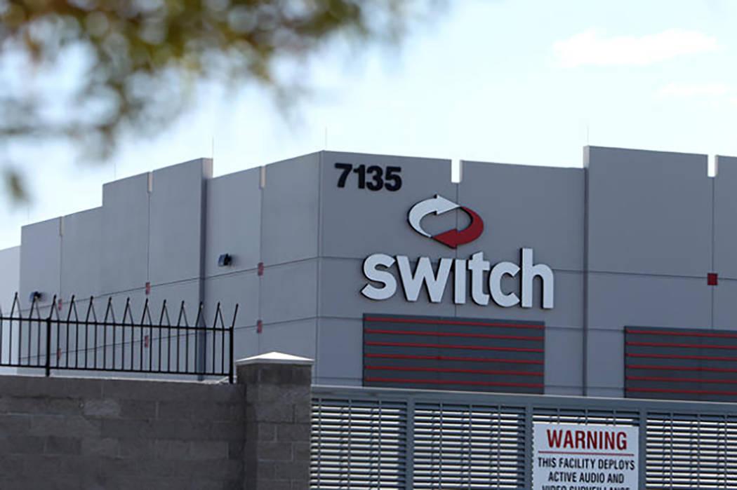 Switch data center near South Decatur Boulevard and West Warm Springs Road in Las Vegas, Tuesday, April 21, 2015. (Erik Verduzco/Las Vegas Review-Journal) @Erik_Verduzco