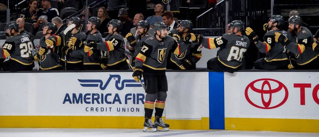 The Golden Knights will play its first home game tonight. (Tom Donoghue)
