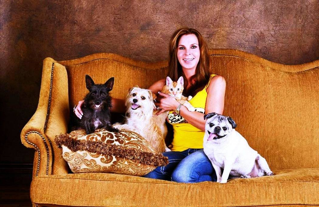 Friendly Ford The fall edition of Paws for the Cause is set from 11 a.m. until 3 p.m. Oct. 21 at Friendly Ford, 660 N. Decatur Blvd. Event founder Dana Arcana is shown with the pets she adopted fr ...