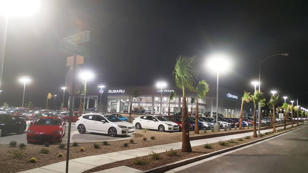 Findlay Automotive Subaru of Las Vegas has moved into its new facility at 6455 Roy Horn Way at Rainbow Boulevard and the 215 Beltway.