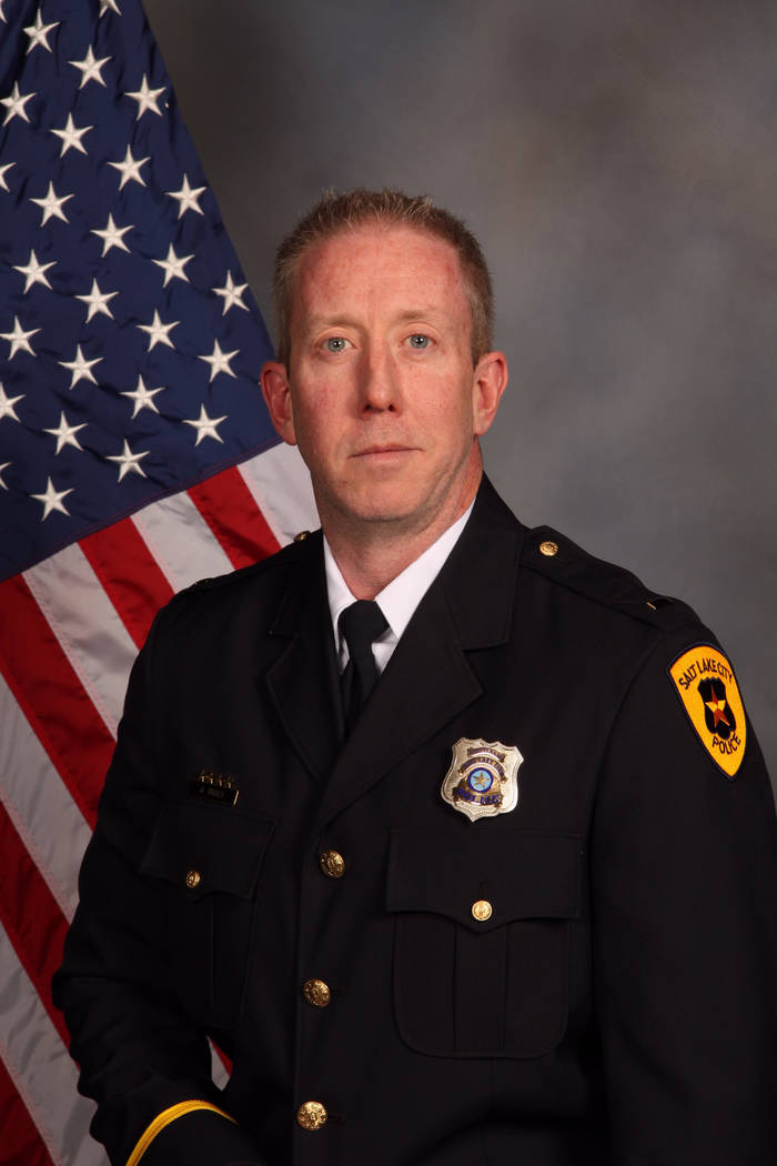Lt. James Tracy. Detective Jeff Payne, a Utah police officer who was caught on video roughly handcuffing a nurse because she refused to allow a blood draw was fired Tuesday, Oct. 10, 2017, in a ca ...
