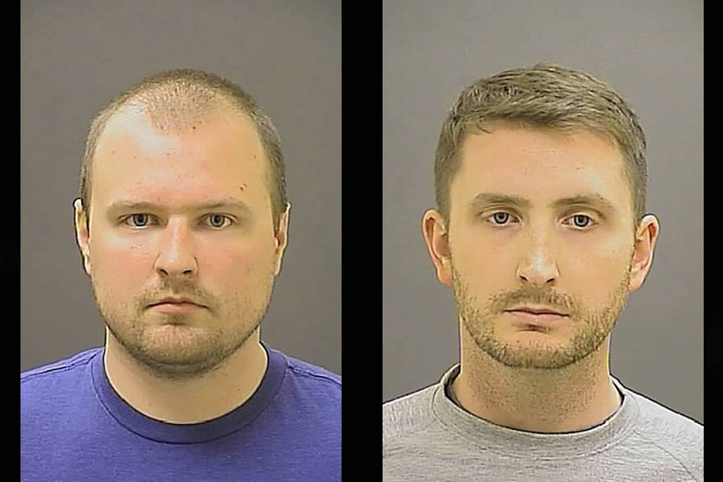 Garrett E. Miller and Edward M. Nero (Baltimore Police Department)