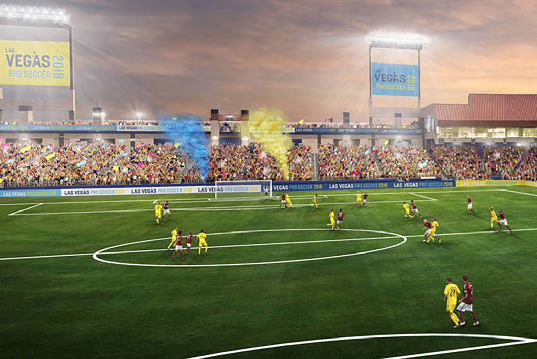 Las Vegas Lights FC owner 'ecstatic' to become Cashman's
