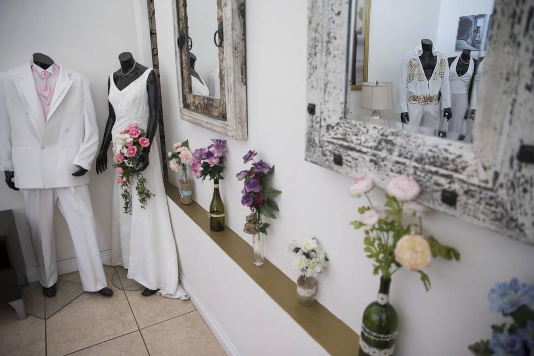 A Wedding Chapel in Las Vegas, Thursday, Oct. 12, 2017. Erik Verduzco Las Vegas Review-Journal @Erik_Verduzco