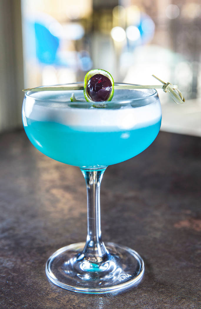 The Walter White at Morels French Steakhouse & Bistro on Thursday, October 12, 2017, at The Palazzo hotel/casino, in Las Vegas. Benjamin Hager Las Vegas Review-Journal @benjaminhphoto