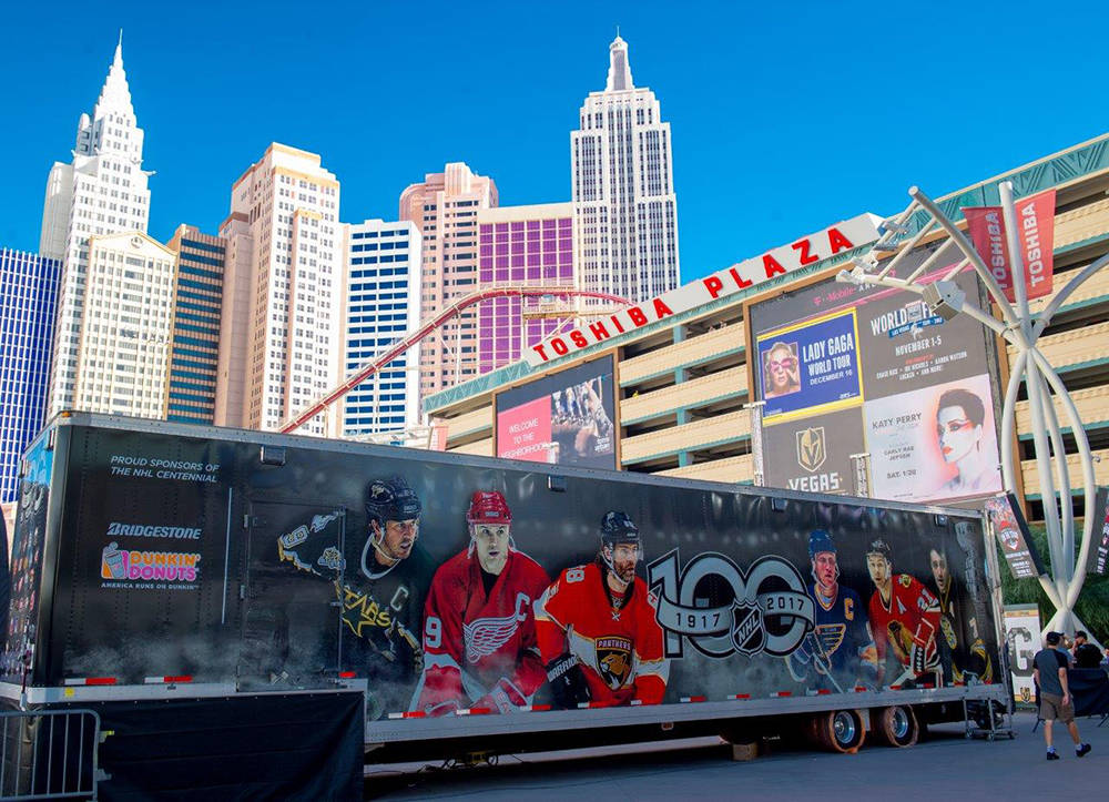The Vegas Golden Knights made NHL history last night (Oct. 10) as the first team ever to open its inaugural season with a 3-0 streak of wins. (Tom Donoghue)