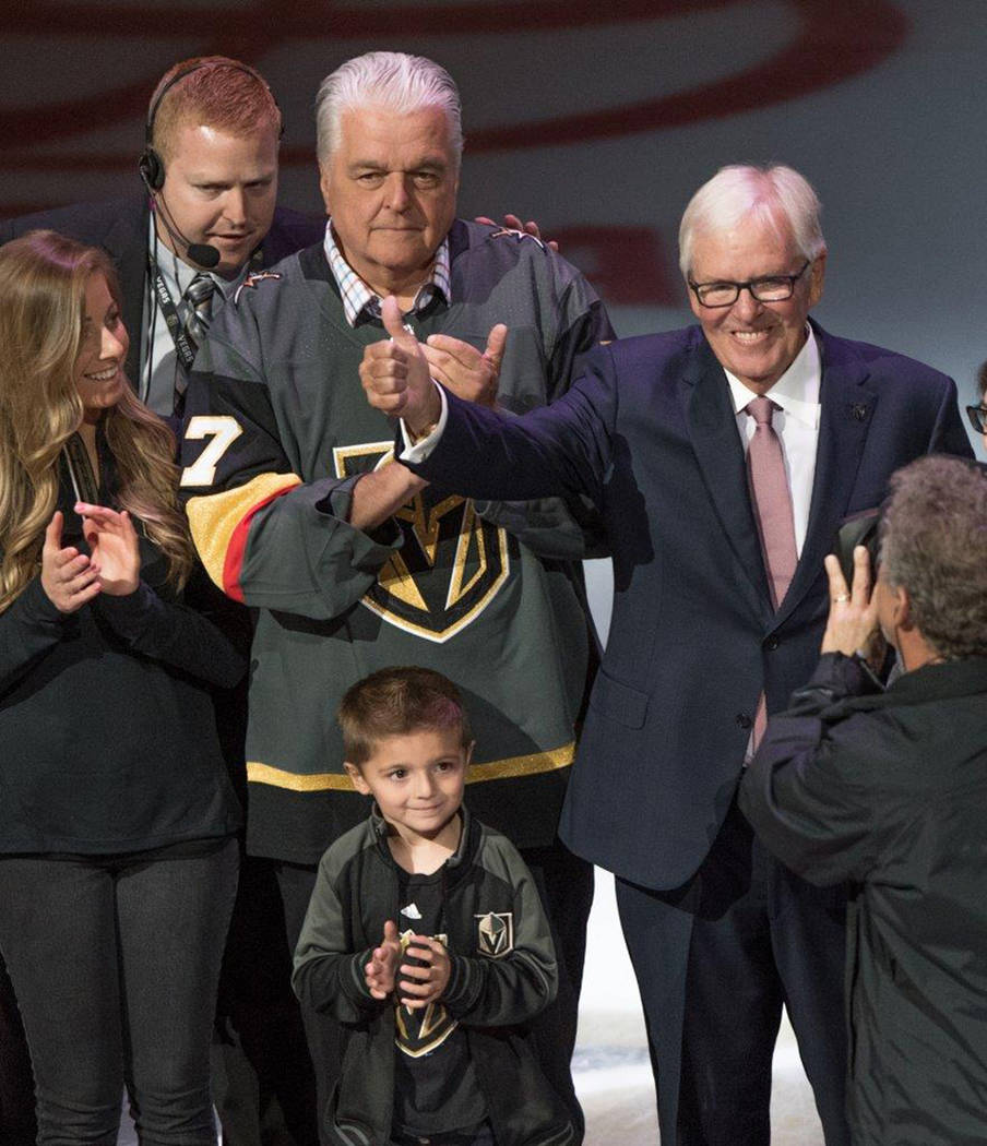 Vegas Golden Knights made NHL history last night (Oct. 10) as the first team ever to open its inaugural season with a 3-0 streak of wins — but they were mixed with tears of sadness when the expa ...