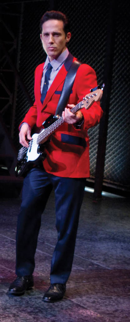 "Jeff Leibow in ""Jersey Boys."" (Joan Marcus/Courtesy)"