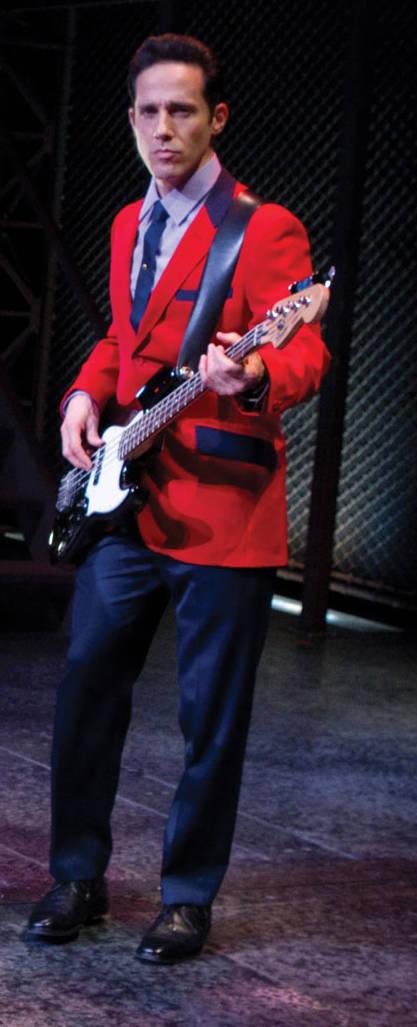 "Jeff Leibow in ""Jersey Boys."" (Joan Marcus/Courtesy)"