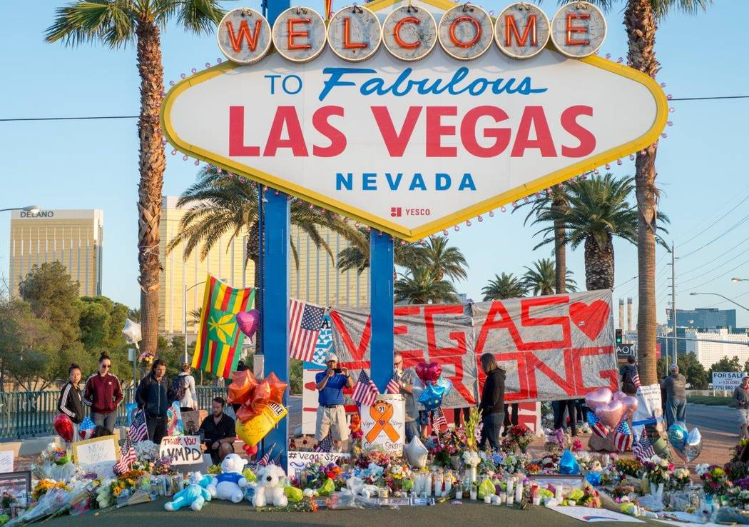 Area businesses, chefs and entertainers have pulled together with donations and fundraisers to support those affected in the Oct. 1 Las Vegas mass shooting. (Tom Donoghue)