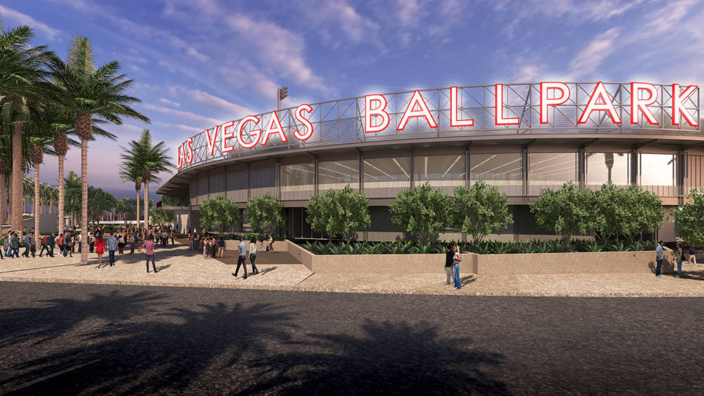 The city's professional baseball team, Las Vegas 51s, will have a new home in Las Vegas Ballpark, which will soon be under construction in Downtown Summerlin. (The Howard Hughes Corp.)