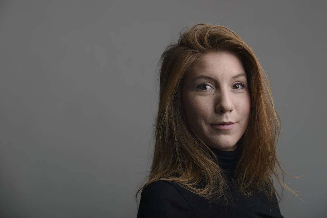 Danish police said Wednesday, Aug. 23, 2017, that DNA tests from a headless torso found in the Baltic Sea matches with missing Swedish journalist Kim Wall, who is believed to have died on an amate ...