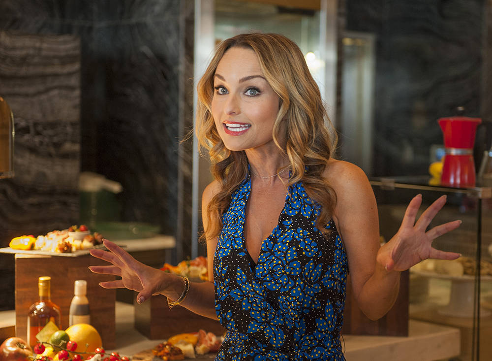 Celebrity chef Giada De Laurentiis announces plans to open her second restaurant in Las Vegas at her first restaurant, Giada at The Cromwell, on Wednesday, Oct. 11, 2017. The new restaurant, Pront ...