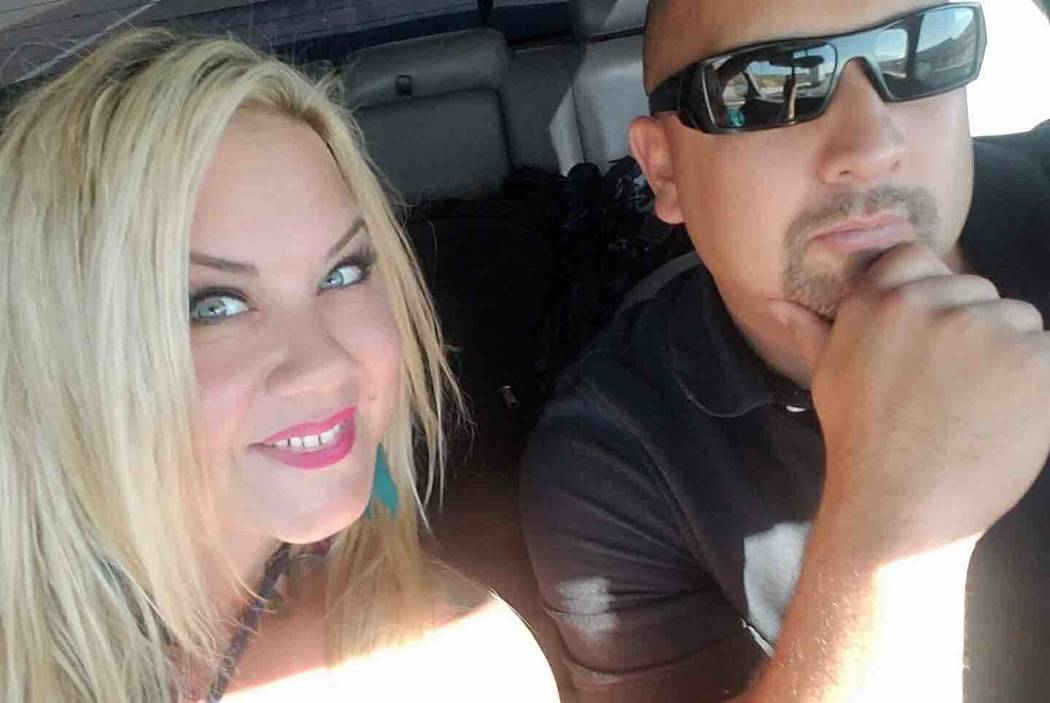 Heather Warino Alvarado and her husband Albert Alvarado. (GoFundMe)