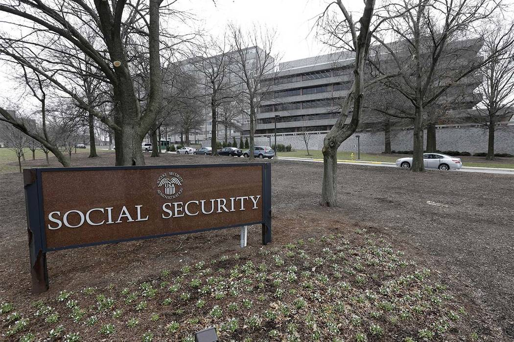 The Social Security Administration's main campus is seen in Woodlawn, Maryland. (Patrick Semansky, AP file)