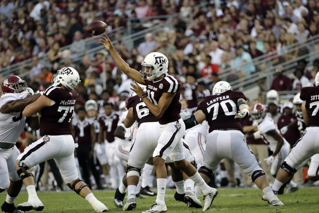 Look For Texas A M To Pull Off Upset Of Florida Las Vegas Review