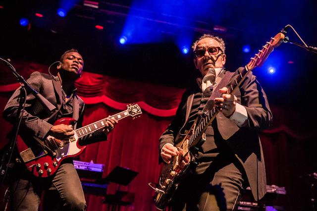 Elvis Costello and The Roots performed March 16 at Brooklyn Bowl Las Vegas at The Linq. (Erik Kabik/ Retna/ erikkabik.com)