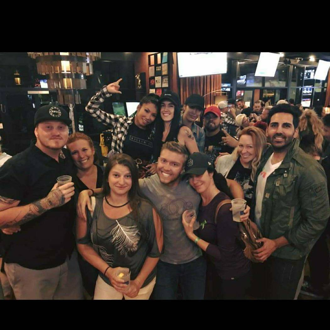 Route 91 Barrel East bartenders reunion! Vegas strong! Also ran into some of my regulars from house of blues bar at Route 91 at Bad Apple Tattoo!!!!! Photo submitted by Heather Gooze.