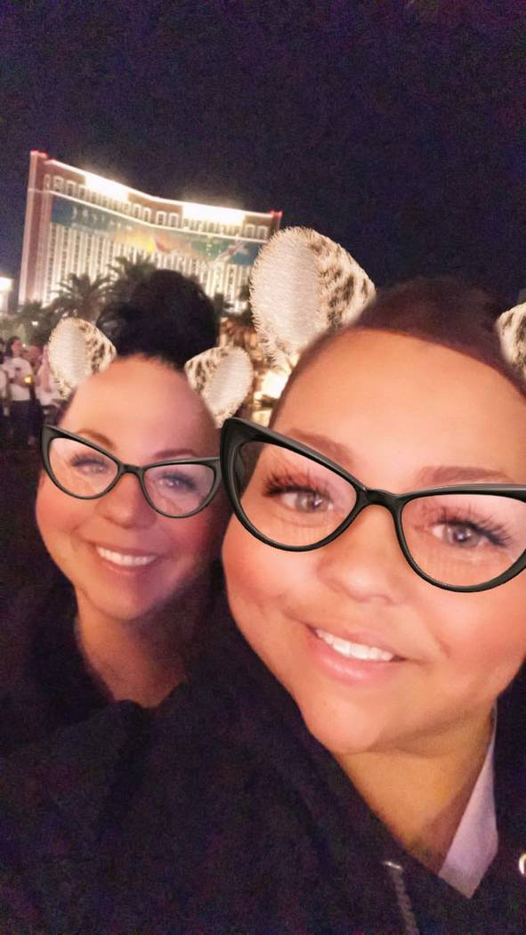 Vegas Strong walk. Submitted by Latoya Toussant.