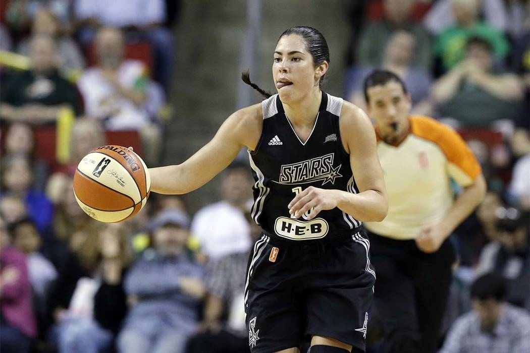 San Antonio Stars' Kelsey Plum is excited about the idea of playing in Las Vegas. The San Antonio Stars reportedly will be moving to Las Vegas and Plum, the top pick in the draft last season and t ...
