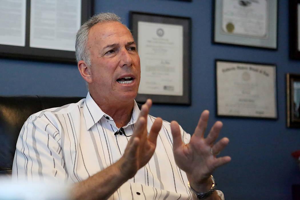 District Attorney Steve Wolfson. Michael Quine/ Las Vegas Review-Journal.