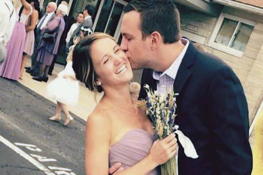 Tina Frost with her boyfriend, Austin Hughes.