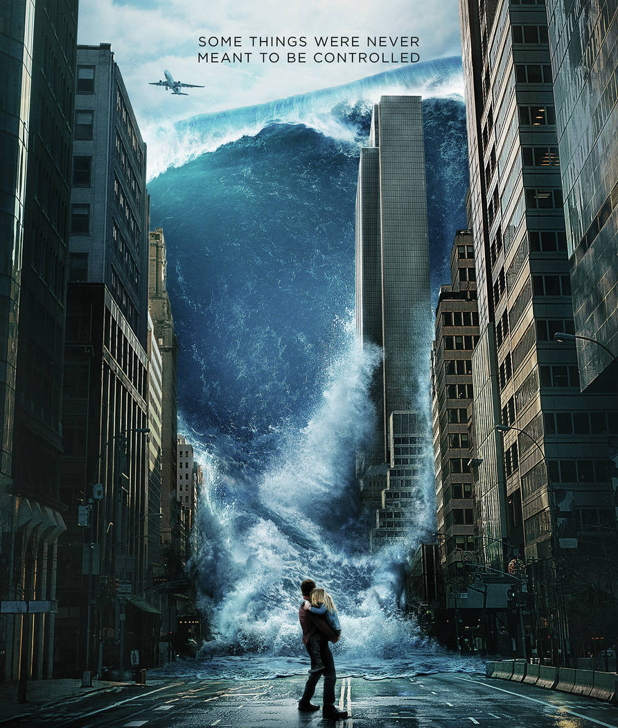 "Warner Bros. Pictures A worldwide storm threatens to wipe out Earth in ""Geostorm,"" which hits theaters this weekend."