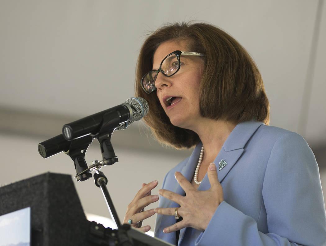 United States Sen. Catherine Cortez Masto, D-Nev. (AP Photo/Rich Pedroncelli)