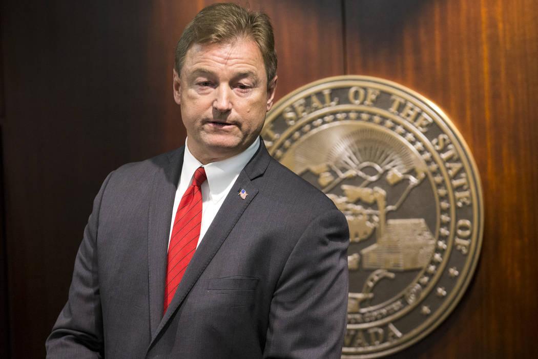 Sen. Dean Heller, R-Nev. Erik Verduzco/Las Vegas Review-Journal