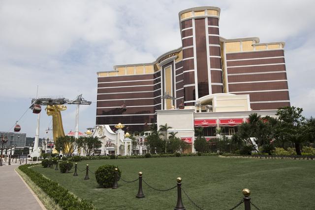 The Wynn Palace is photographed on Tuesday, Sept. 13, 2016, in Macau. Erik Verduzco/Las Vegas Review-Journal Follow @Erik_Verduzco